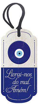 Decor Home Tag 2 Olho Grego DHT2-006 Litoarte Rizzo Confeitaria