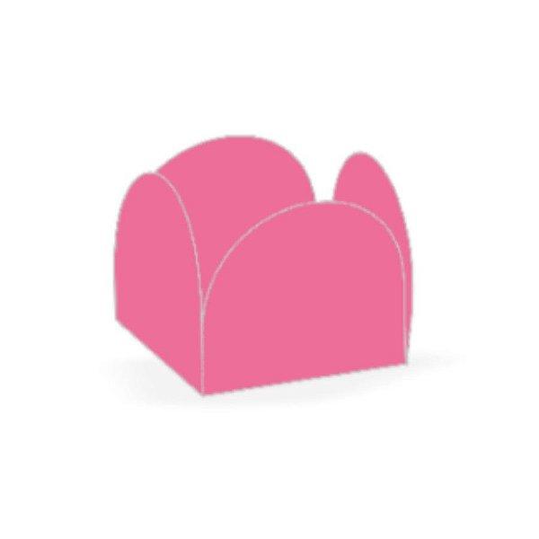 Forminha 4 Pétalas Rosa Escuro Cod. 10.62 com 50 un. Nc Toys