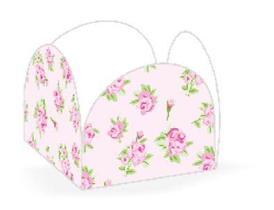 Forminha 4 Pétalas Floral Rosa Cod. 48.2 com 50 un. Nc Toys Rizzo Confeitaria