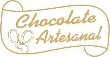 Etiqueta Adesiva Chocolate Artesanal Cod. 059 c/ 100 un. Massai Rizzo Confeitaria