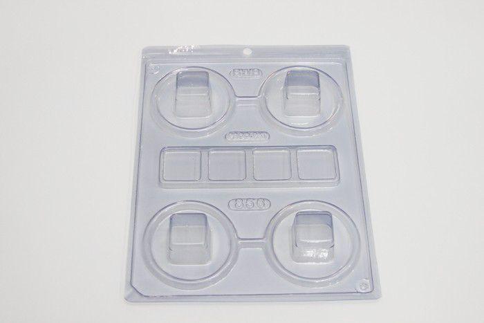 Forma Especial Mini Caixa Quadrada Cód. 856 BWB Rizzo Confeitaria
