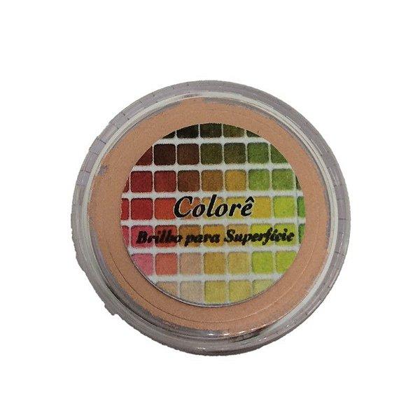 Pó para Decoração, Brilho para Superficie Colorê Cobre 2g LullyCandy Rizzo Confeitaria