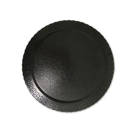 Base para Bolo Cake Board Redondo Preto 38 cm Ultrafest Rizzo Confeitaria