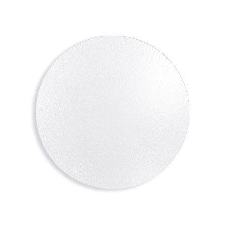 Disco para Bolos e Tortas Branco 15 cm 1 un. Ultrafest Rizzo Confeitaria