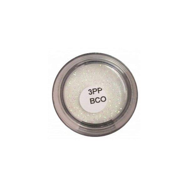 Brilho para superficie Colorê Glitter Branco 1,5g LullyCandy Rizzo Confeitaria