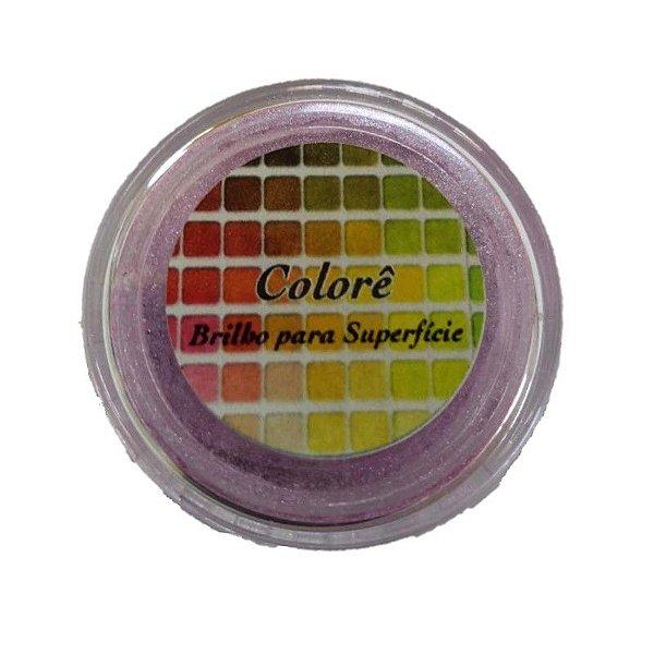 Pó para decoração, Brilho para superficie Colorê Lavanda1 2g LullyCandy Rizzo Confeitaria