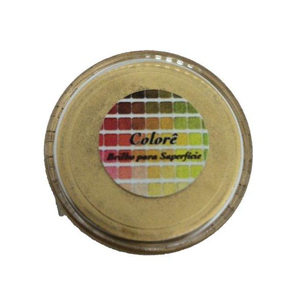 Pó para decoração, Brilho para superficie Colorê Imperatriz Metalizado 2g LullyCandy Rizzo Confeitaria