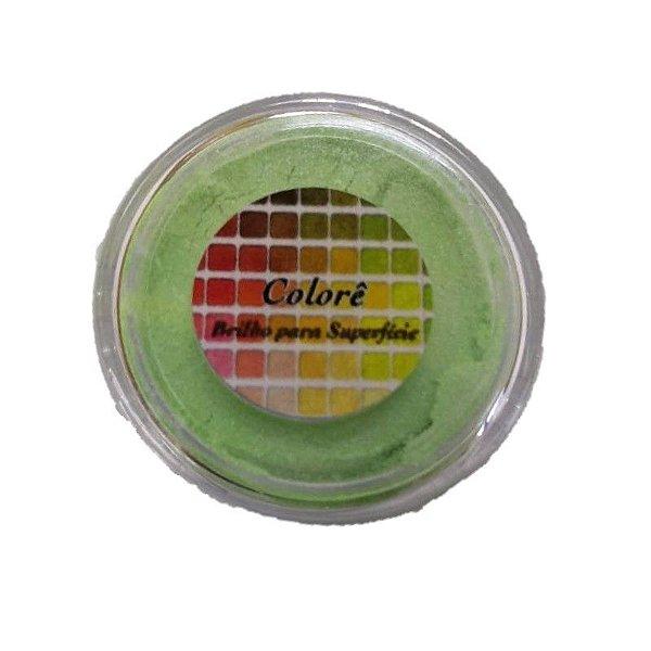 Pó para decoração, Brilho para superficie Colorê Azedinho 2g LullyCandy Rizzo Confeitaria