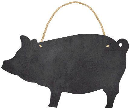 Placa Decor Home Lousa Porco DHLO-004 Litoarte Rizzo Confeitaria