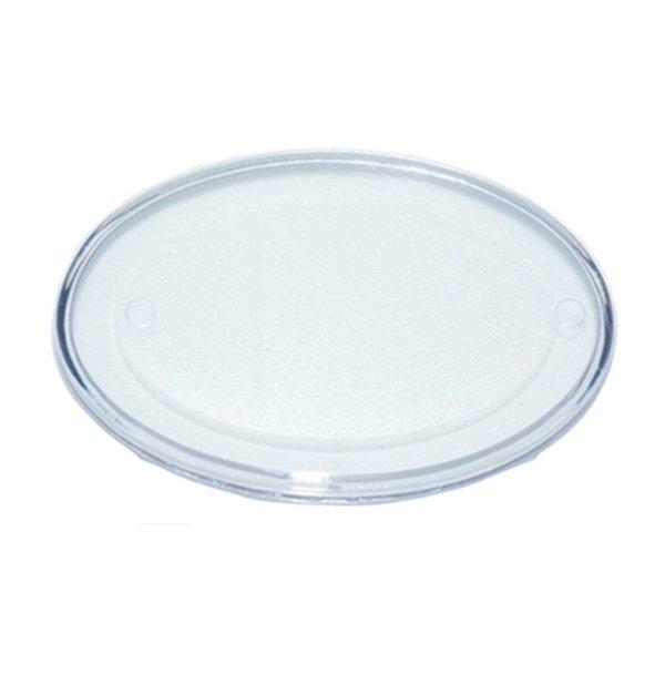 Base Oval Transparente M 8X14 Blue Star Rizzo Confeitaria