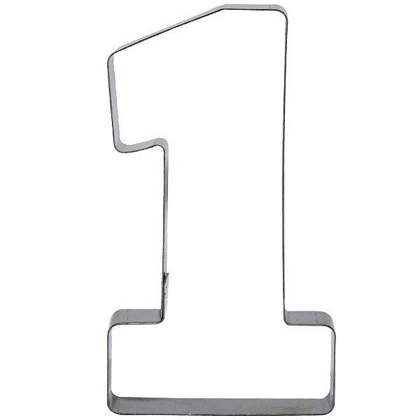Cortador Numeral 1 G Ref. 361 RR Cortadores Rizzo Confeitaria