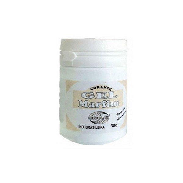 Corante Gel Marfim 30 g Arcolor Rizzo Confeitaria