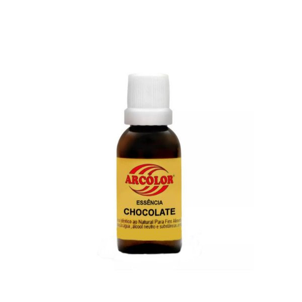 Essência Chocolate 30 ml Arcolor Rizzo Confeitaria