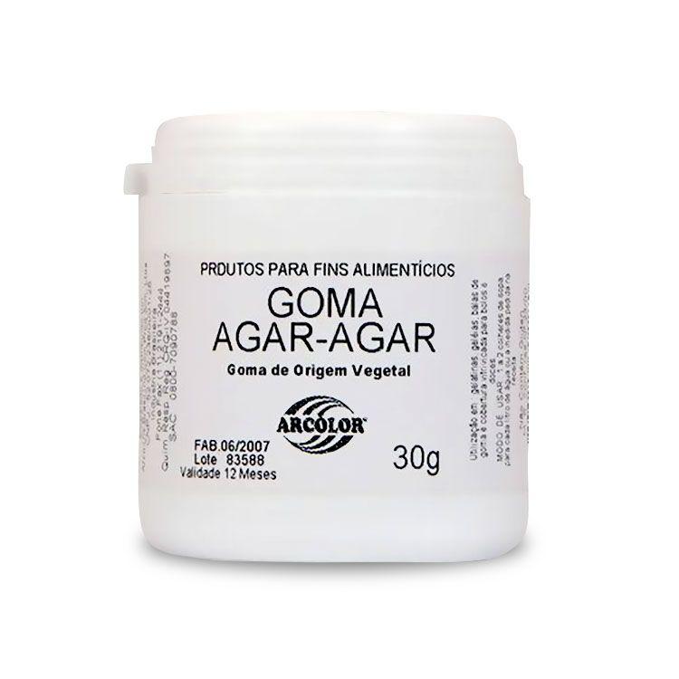 Goma Agar Agar 30 g Arcolor