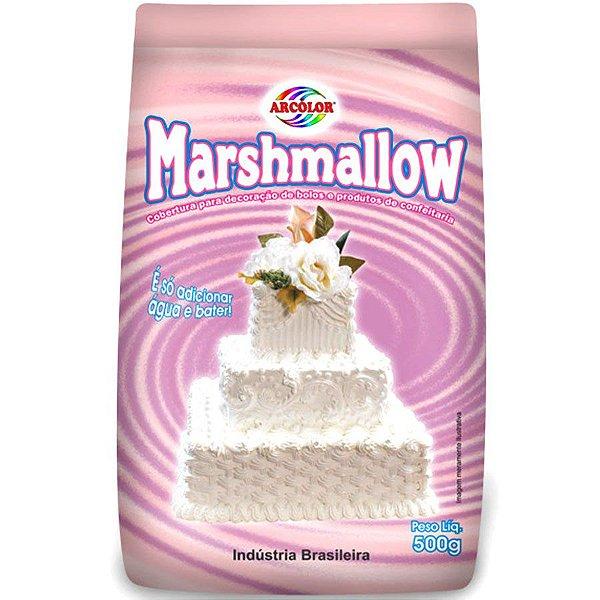 Mistura para Marshmallow 500 gr Arcolor
