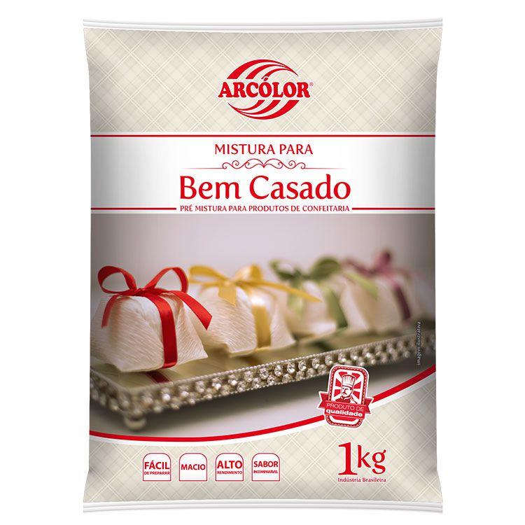 Mistura para Bem Casado 1 kg Arcolor Rizzo Confeitaria