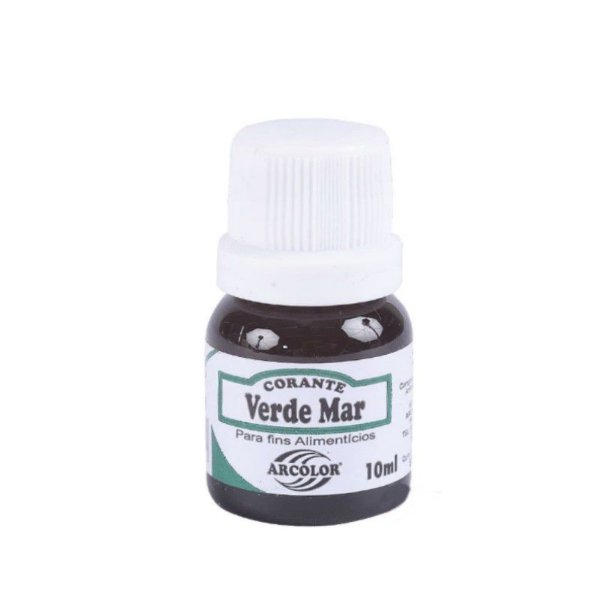 Corante Liquido Verde Mar 10ml Arcolor