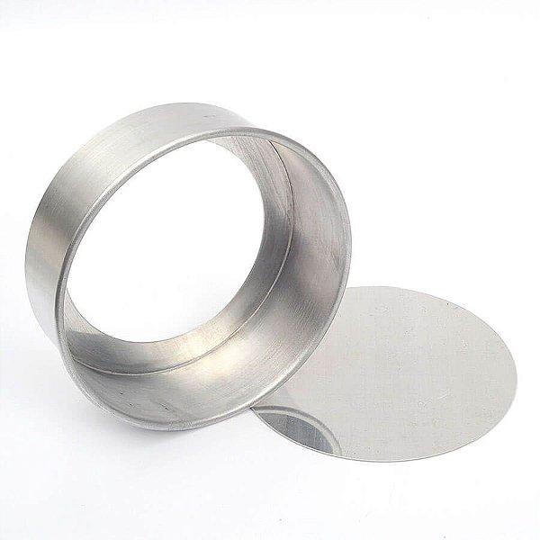 Forma Redonda Fundo Falso - 35X7cm - Doupan - Rizzo Confeitaria