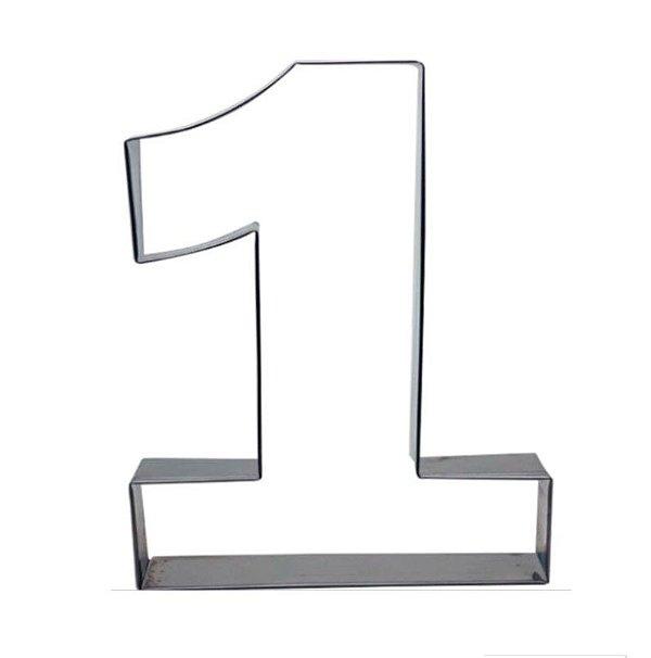Aro Cortador Número 1 (um) Doupan Rizzo Confeitaria