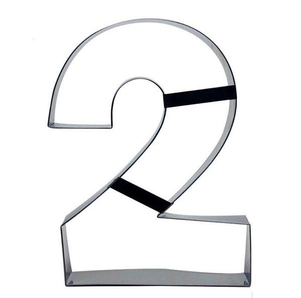 Aro Cortador Número 2 (dois) Doupan Rizzo Confeitaria