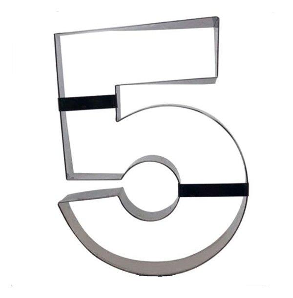 Aro Cortador Número 5 (cinco) Doupan Rizzo Confeitaria