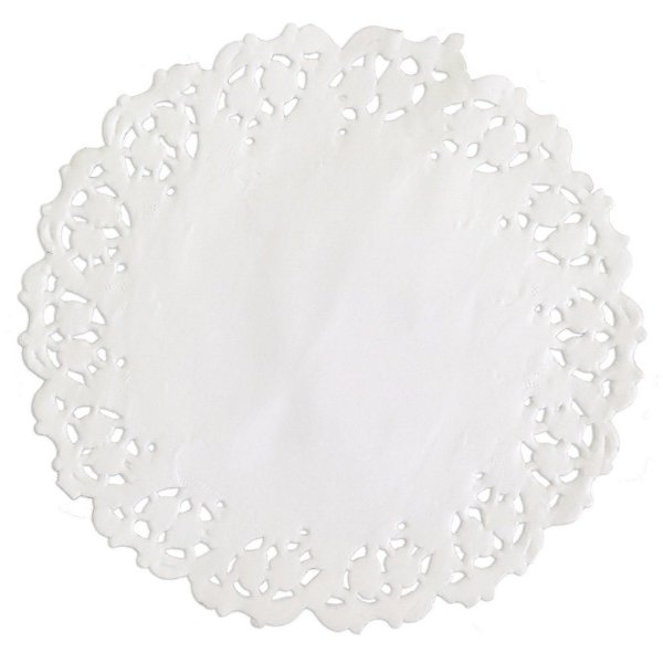 Toalhas Rendadas de Papel Mod. 110 Branca Mago Rizzo Confeitaria