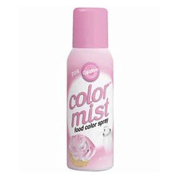 Corante Spray Aerosol Rosa 42 g Wilton Rizzo Confeitaria