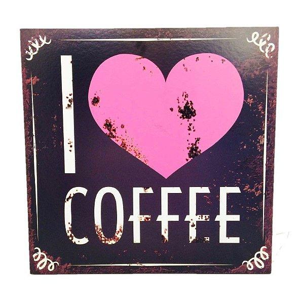 Placa Decorativa Café  Mod. 12 Onyx Rizzo Confeitaria