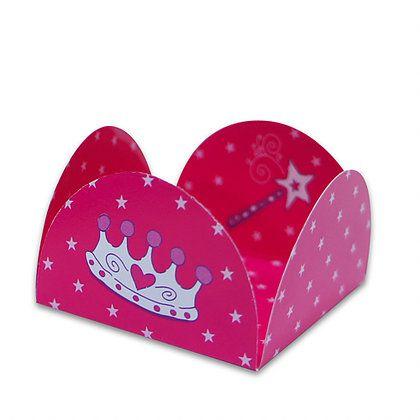 Forminha 4 Pétalas Princesa com 50 un. Miss Embalagens Rizzo Confeitaria