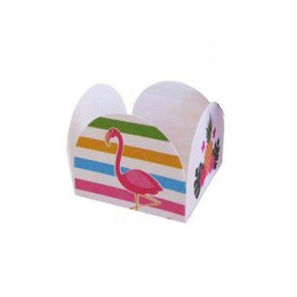 Forminha 4 Pétalas Flamingo Cod. 67.3 com 50 un. Nc Toys Rizzo Confeitaria