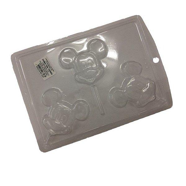 Forma de Acetato Mouse  Mod. P33  Crystal Rizzo Confeitaria
