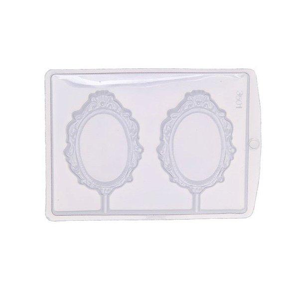 Forma de Acetato Espelho Moldura 2 Mod. 3501  Crystal Rizzo Confeitaria