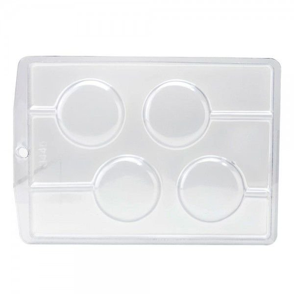Forma de Acetato Redondo Liso Mod. 3445 Crystal Rizzo Confeitaria