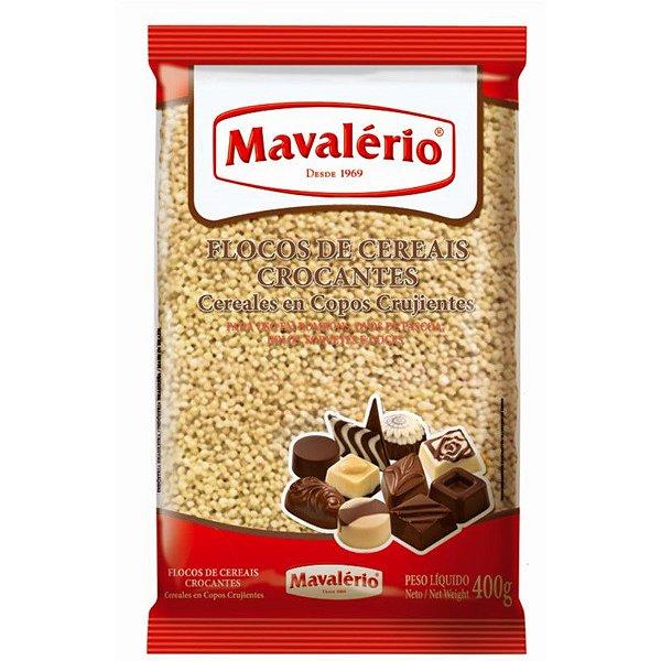 Flocos de Cereais Crocantes 400 g Mavalério Rizzo Confeitaria