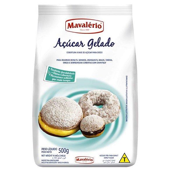 Açúcar Gelado 500 g  Mavalério Rizzo Confeitaria