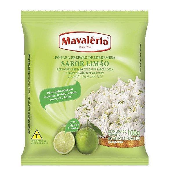 Pó para Prepraro de Sobremesas Sabor Limão 100 g Mavalério Rizzo Confeitaria