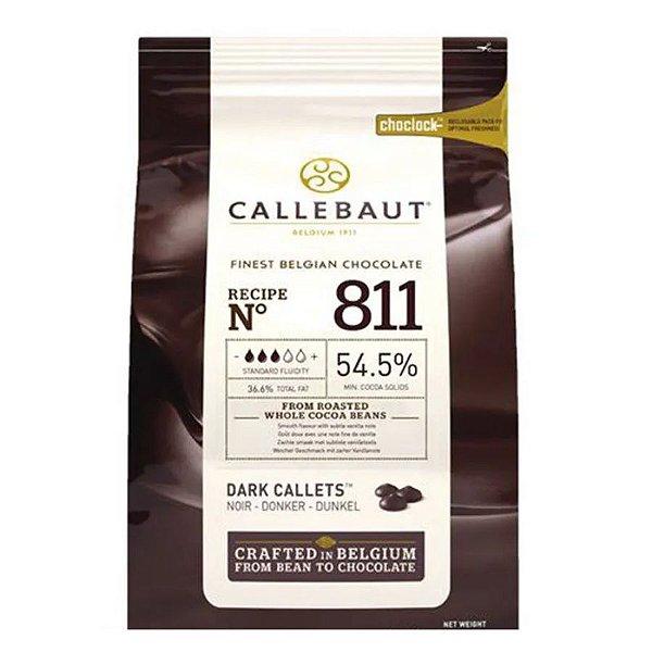 Chocolate Amargo em Gotas Belga Callebaut 2 kg - 811-BR-U76 - Rizzo Confeitaria
