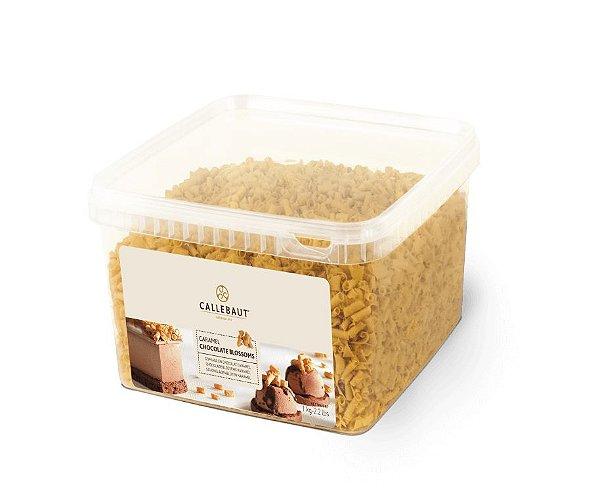 Chocolate Callebaut Blossoms Caramelo - CHF-BS-19500-999 -1kg Rizzo Confeitaria