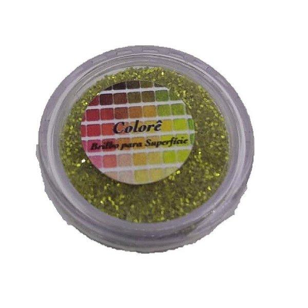 Brilho para superficie, Gliter Verde Sereia 1,5g LullyCandy Rizzo Confeitaria