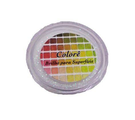 Brilho para superficie, Gliter Reflexo Verde 2g LullyCandy Rizzo Confeitaria