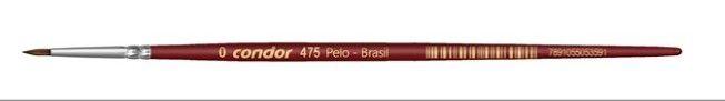 Pincel Artístico 1 un. Modelo 475-0 Condor Rizzo Confeitaria