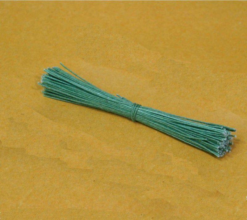 Arame Galvanizado Maço Verde Musgo com 100 un. Primor Rizzo Confeitaria