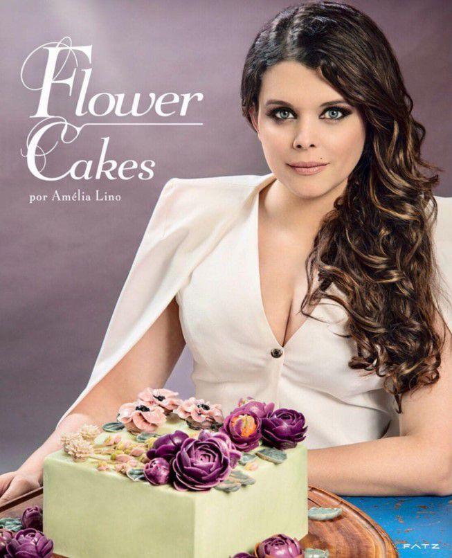 Livro Flower Cakes da Amélia Lino Rizzo Confeitaria