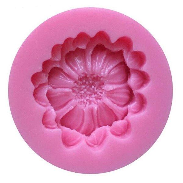 Molde de silicone Flor S128 Molds Planet Rizzo Confeitaria