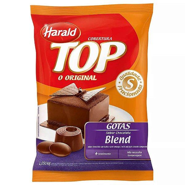 Chocolate Blend Gotas Top 1kg Harald Rizzo Confeitaria