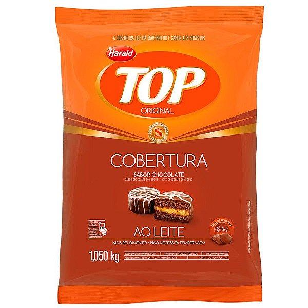 Chocolate Ao Leite Gotas Top 1kg Harald Rizzo Confeitaria