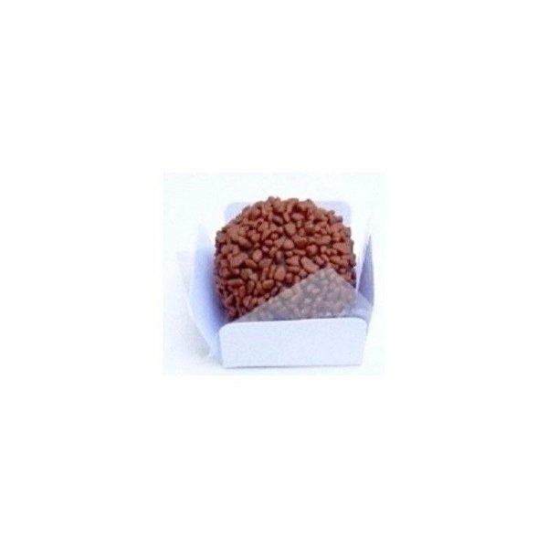 Forminha 4 Pétalas Quadrada Branca P com 50 un. Embalagens para Doces Rizzo Confeitaria