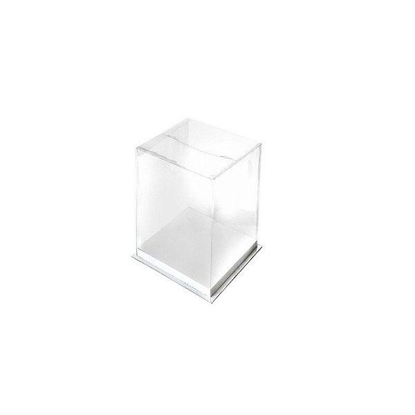 Caixa para Bolo Branca 16 cm Eluhe Rizzo Confeitaria