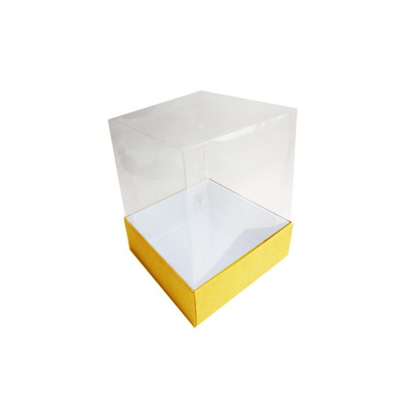 Caixa para Bolo Dourado 10 cm com 10 un. Assk Rizzo Confeitaria