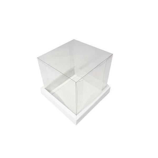 Caixa Panetone Branca 250G com 5 un. Assk Rizzo Confeitaria